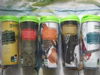 Wang Leehom Lee Hom Brands Ambassador tumblers set lot gift
