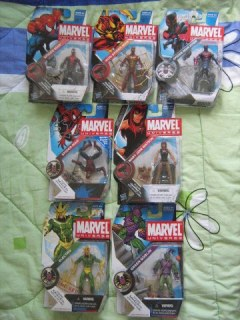 Marvel Marvel Universe Spider-man 2099 Iron Spider House of M Mary Jane Watson Green Goblin Electro