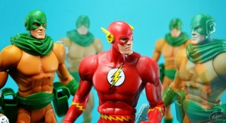 DC, Universe, Infinite Earths, JLU, Flash, Rogues Gallery, Mirror Master, Club, Villain, Limited Edition