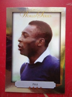 FIFA Football World Cup Soccer Greatest Player Brazil Pele Futera card World Series collector limited edition magazine